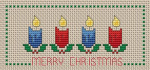 Christmas Bookmark pattern