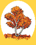 Tree in Autumn pattern