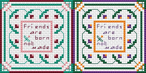 Friends Mini Sampler pattern