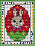 Cute bunny suitable for greetings cards or other Easter-themed projects.