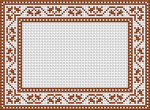 Small motif for decorative frames, borders or cards.