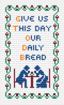 """Give us this day our daily bread"" is the forth of the seven petitions in the Lord's prayer"
