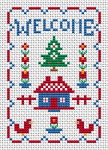 Welcome Mini Sampler pattern