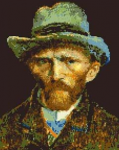 Van Gogh pattern