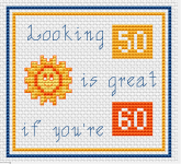 60th Birthday pattern