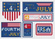 Fourth of July pattern