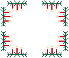 Christmas Motif free cross stitch pattern