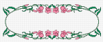 Oval Floral Motif pattern