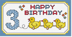 3rd Birthday pattern
