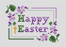 Happy Easter pattern