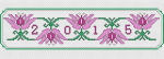 2015 Bookmark pattern