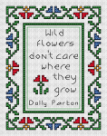 Wild Flowers pattern