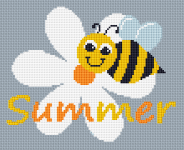 Summer Bee pattern
