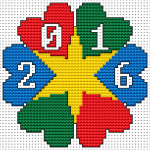 2016 Ornament pattern