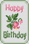 Birthday Card pattern