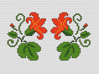 Floral Motif x2 pattern