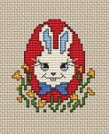 Bunny and Egg pattern