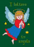 I Believe in Angels pattern