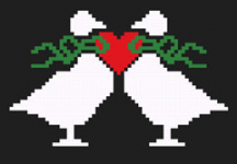 Duck Couple pattern
