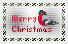 It's Christmas time again .This little holly bird will bring you great joy and happiness.