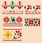 Bulgarian Motifs pattern