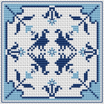 Biscornu Pattern pattern