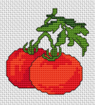 Tomatoes pattern