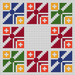 Colorful Life pattern