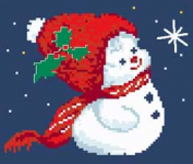 Snowman pattern