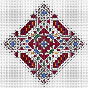 A beautiful motif from the rich Bulgarian heritage - the incredible authentic embroideries filled with a great sense of beauty and symbolism.