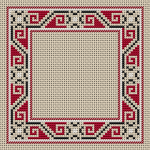 Border Half Cross Stitches