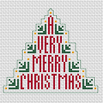 Free Printable Christmas Ornament Cross Stitch Patterns.Christmas Cross Stitch