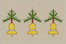Christmas Bells Border pattern