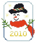 Snowman 2010 pattern